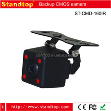 DC12V 160 Degree Flash Mount Night Vision Camera with Distance line