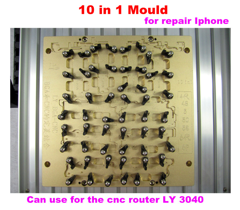 Original LY 3040 IC CNC router milling grinding machine for iPhone 4 to iPhone 6 IC chipset replace repairing system