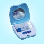 cases for contact lenses blue case