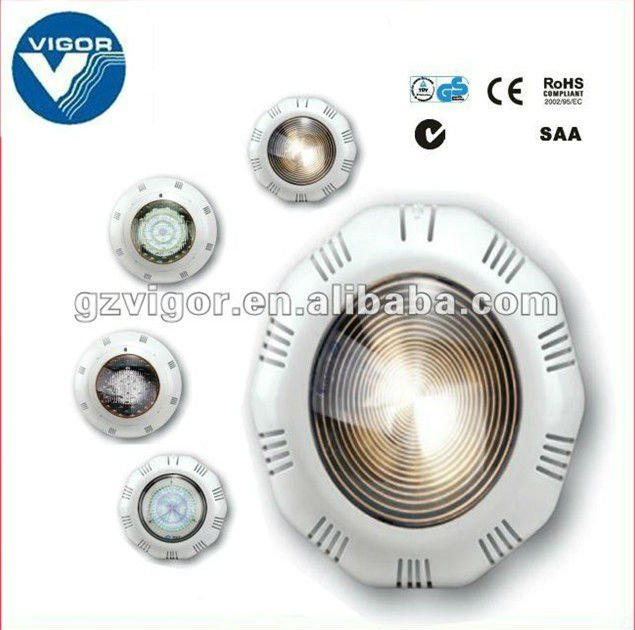 Plastic swimming pool underwater light/LED panel &Light bulb (DP100)