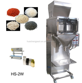 Semi Automatic digital weigher filling machine for pellets