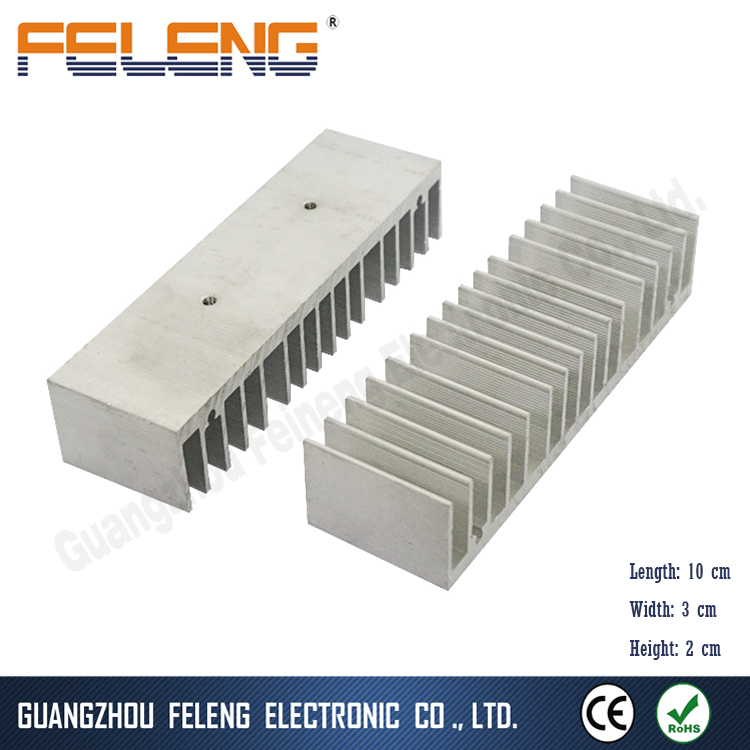 aluminum extruded heatsink enclosure / cast iron radiator