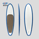 OEM/ODM great lakes prone stand up paddle boards