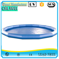 New economic above ground inflatable swimming pool for kids game ,portable pool for sale