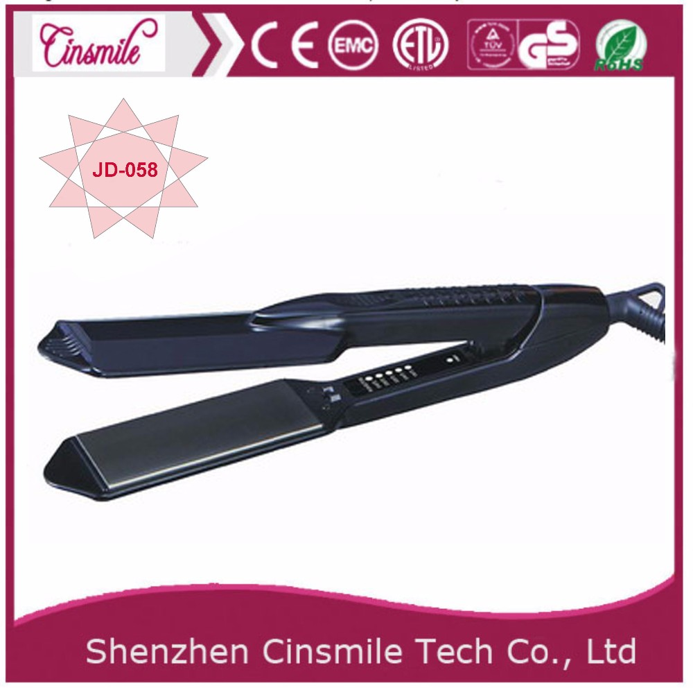 New Style Auto Temperature Contro Steam Hair Straightening Brush Infrared Hair Straightener Comb
