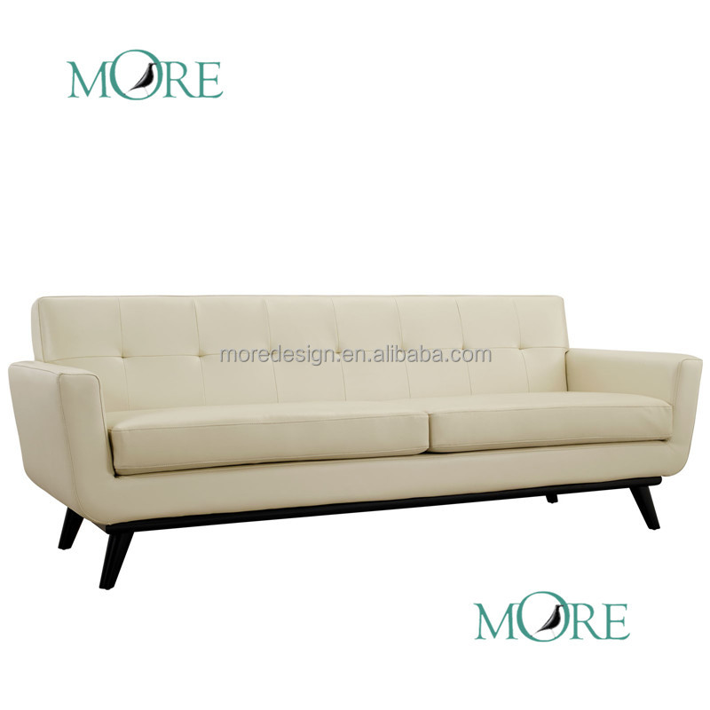 Modern Living Room Furniture Anson Sofa Leather Sectional Two Seat Sofa Buy