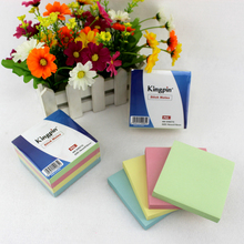 Free sample offered promotional notepad custom sticky adhesive memo pad