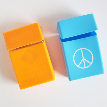Customized silicone cigarette box,cigarette package