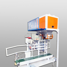 china-made half automatic filling Air bag vertical packing machine