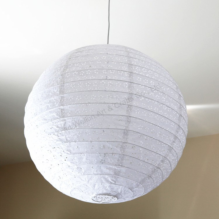 Handmade crafts paper lantern lamp shade