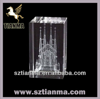 Wholesale 3D laser cheap crystal islamic gifts and crafts See larger image Wholesale 3D laser cheap crystal islamic gifts and c