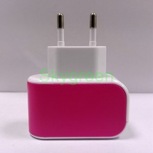 2-Port Dual Multiple USB Wall Charger Universal Portable Rapid Travel Charger for Smart Phone
