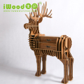 European Style Wooden Deer Drawer