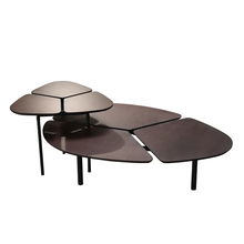 Creative living room coffee <strong>table</strong> multi-functional assembly leaf shaped end <strong>table</strong>