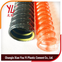 ROHS Sink conveying hose Plastic Suction particles hose