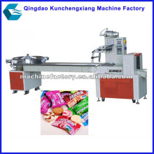 Automatic lollypop candy wrapping machine