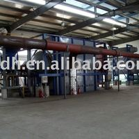 Continuous Scrap Tyre Refinery Equipment