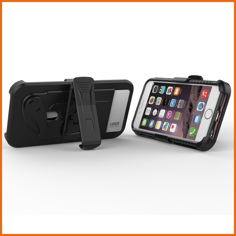 Armor case belt clip phone case for iphone 6 6s