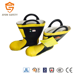 Harvik CE approved firefighting boots high quality- Ayonsafety
