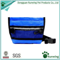 Dog Treat Pouch, Pet Training Waist Bag with Easy Open-Close Spring Hinge and Front Mesh Pocket, Easily Carries Snacks and Toys