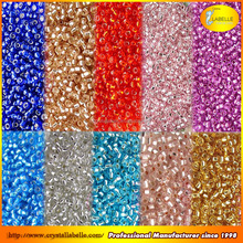 Color mix seed beads glass beads lampwork glass beads in bulk