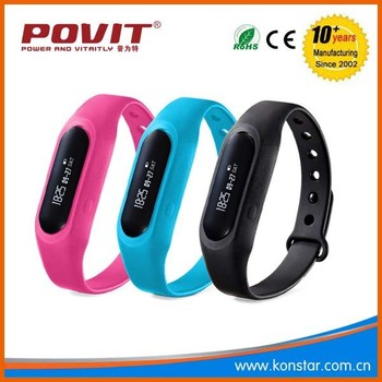 Best Selling LED Fitness Tracker wrist watch Sports Monitoring Bluetooth Smart Intelligent Bracelet Manufacturer
