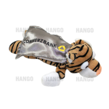 Promotional Custom Cape Slingshot Flying Plush Tiger