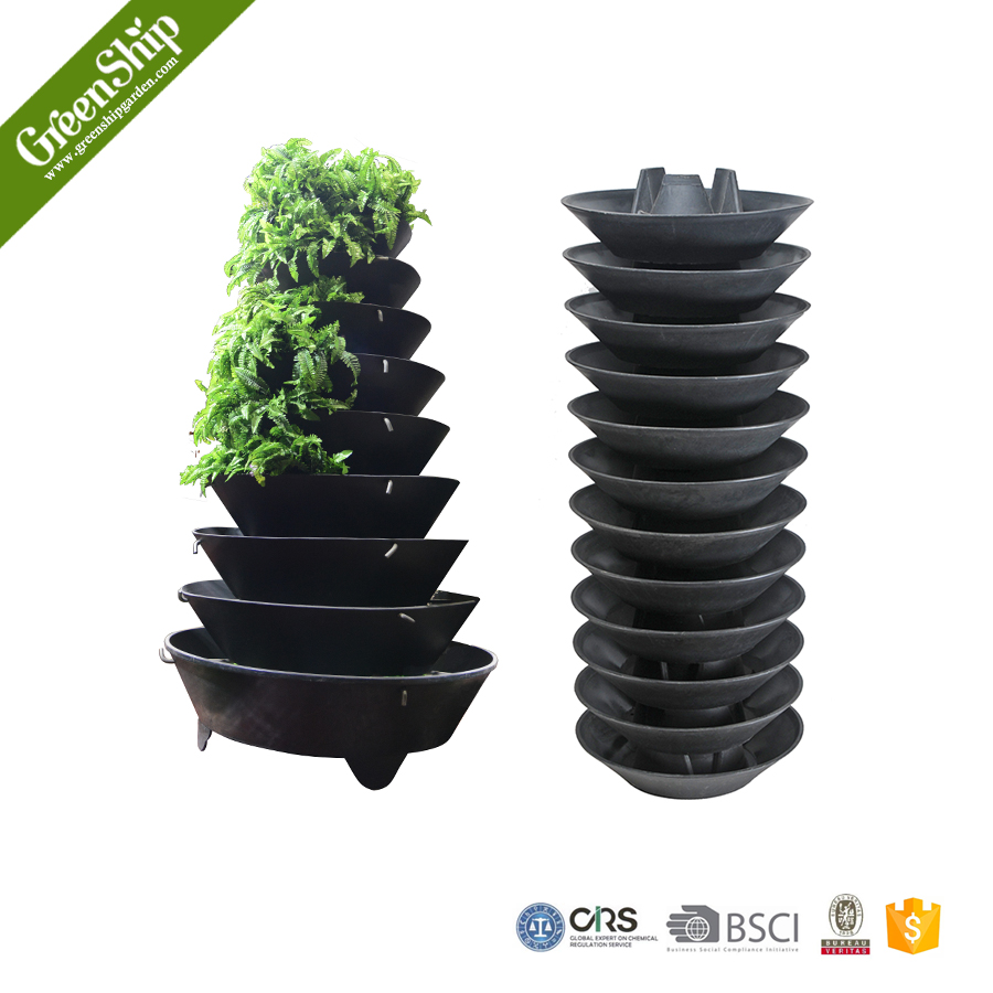 Outdoor Decorative Garden Flower Tower As Your Design