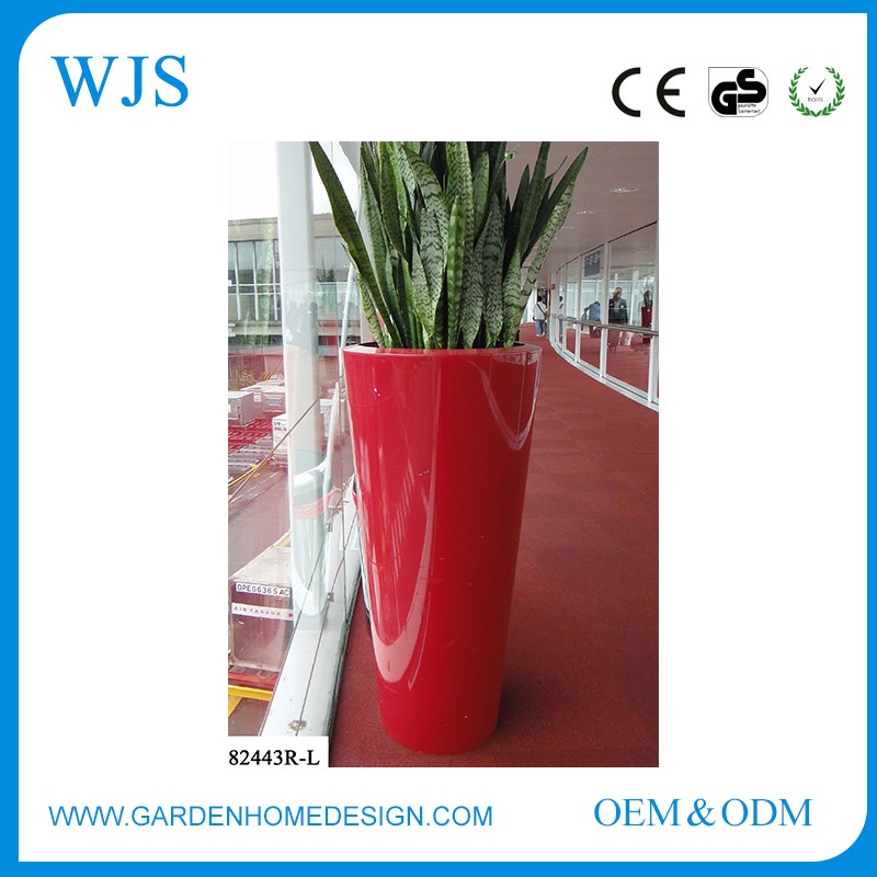 For company Electroplate alloy floral vase