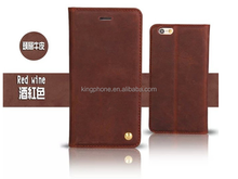 for apple iphone6 flip cover leather case, flip leather case for iphone