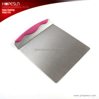 HS-KS437 High Grade Stainless Steel Baking Tools Cake Lifter Scraper For Bread,Pizza
