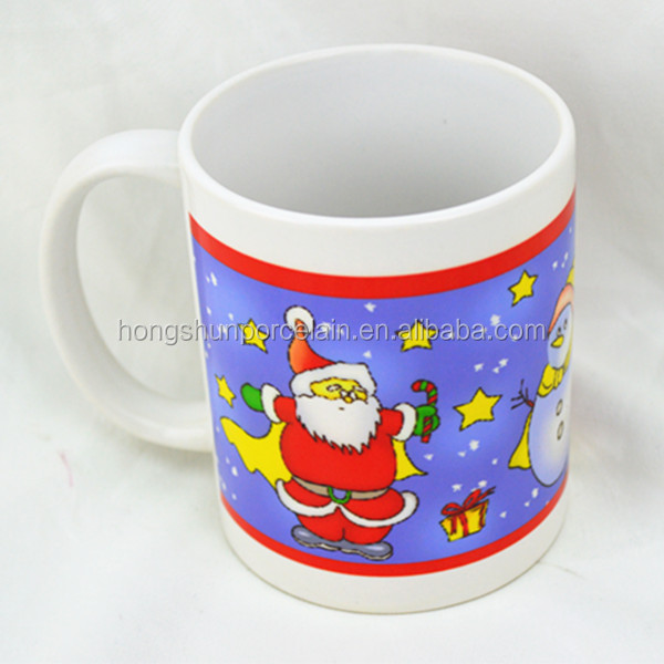 Hot Wholesale White Ceramic Porcelain Coffee Mug Cup