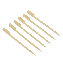 decorative disposable Custom Printed bamboo skewers/ sticks