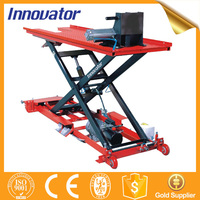 500kg capacity motor drive motorcycle scissor lift with CE IT8915