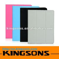 2012 TOP SALES rabit case for ipad 2! Colorful Kingsons Brand Tablet PC Case for ipad 2