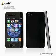 High quality Clear Cell Phone Screen Protector For iphone 4 G/S,For iphone 4S screen film