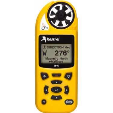 Kestrel 5500 protable wind speed instrument