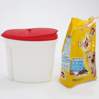 10L For Family Pets High Quality Pet Food Plastic Container