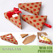 WT-PBX-1708 Triangle cheese cake box