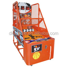 Wholesale sports ball game kids street basketball hoop game machine/electronic basketball scoring machine