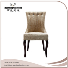 Modern Hotel Room Luxury King Throne High Back Dining Chair