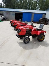 Made in china agriculture machinery 15HP 4 wheel Mini farm tractor for sale