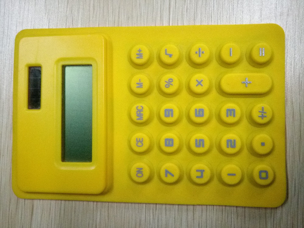 8 digit silicone solar calculators, silicone calculators,factory price