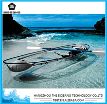 BIGBANG HANGZHOU fishing boats for sale in turkey fishing canoe kayak transparent kayaks fiberglass boat clear canoe