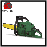 62cc high quality garden field gasoline chain saw hot sale cheap price gasoline chain saw