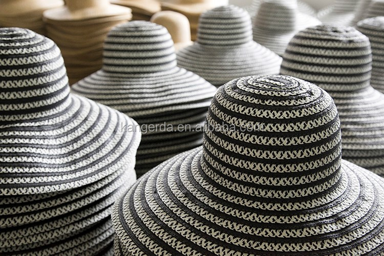 Pompom Fashion Summer Paper Straw Hat China Manufacturer