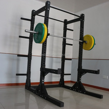 Crossfit barbell fitness power rack