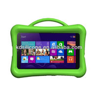 "8.1"" tablet silicon case cover for Acer W3-810, heavy duty silicon case with handle shock proof"