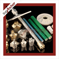SupAnchor low price tunneling construction high quality SDA hollow drilling rock anchor mine roof rock bolt and nut g49
