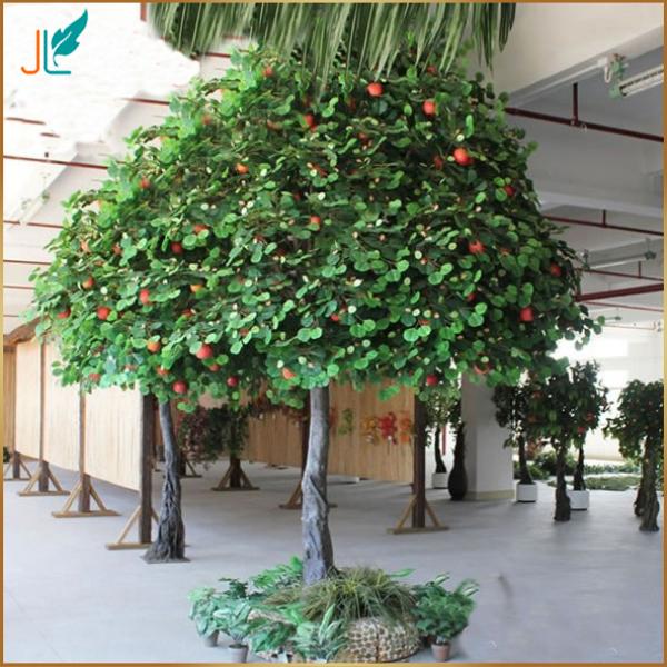 fake large decorative indoor artificial apple tree for sale buy artificial tree artificial. Black Bedroom Furniture Sets. Home Design Ideas